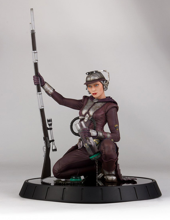 Star Wars Zam Wesell 1-6 Scale Statue