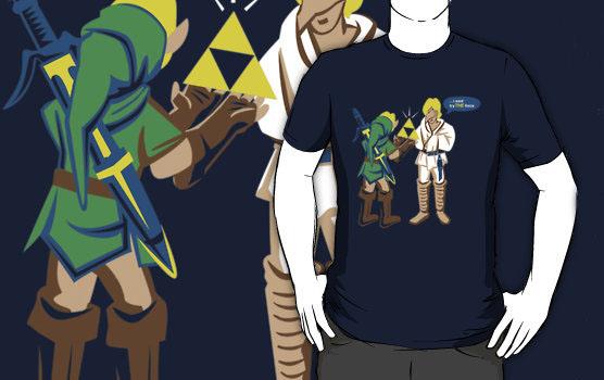 Star Wars Zelda Mashup T-Shirt