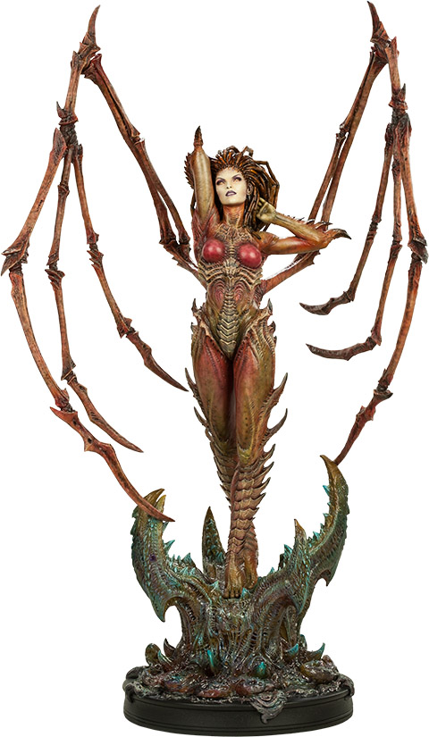StarCraft II Kerrigan Queen of Blades Polystone Statue