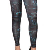 Starfleet Computer Pattern Leggings