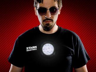 Stark Industries Light-Up LED Shirt