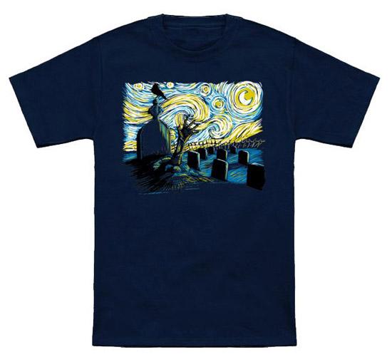Starry Night Z Shirt