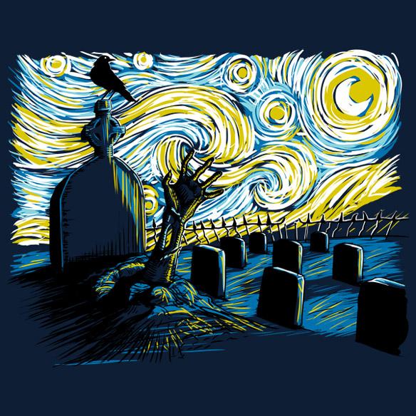 Starry Night Z T-Shirt