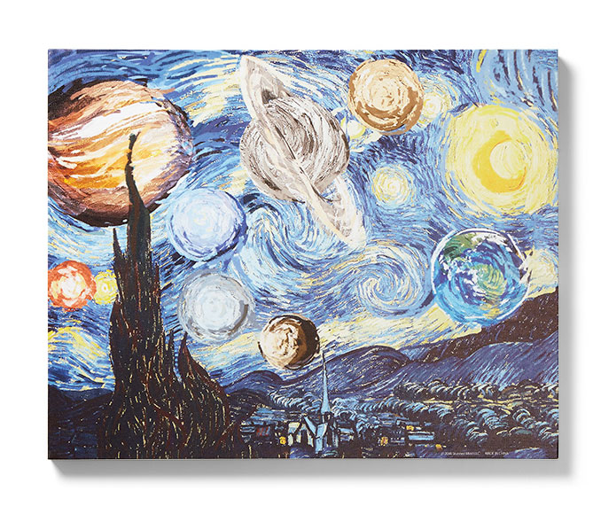 Starry Planet Wall Art