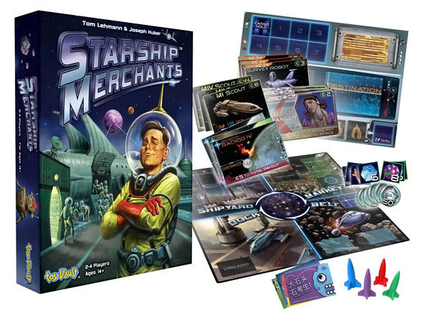 Starship Merchants Game
