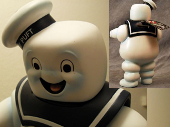 Stay Puft Marshmallow Man Bank Head