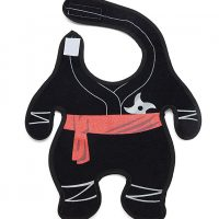 Stealth Baby Ninja Bib