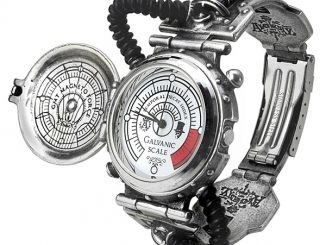 Steam-Powered Entropy Calibrator Watch