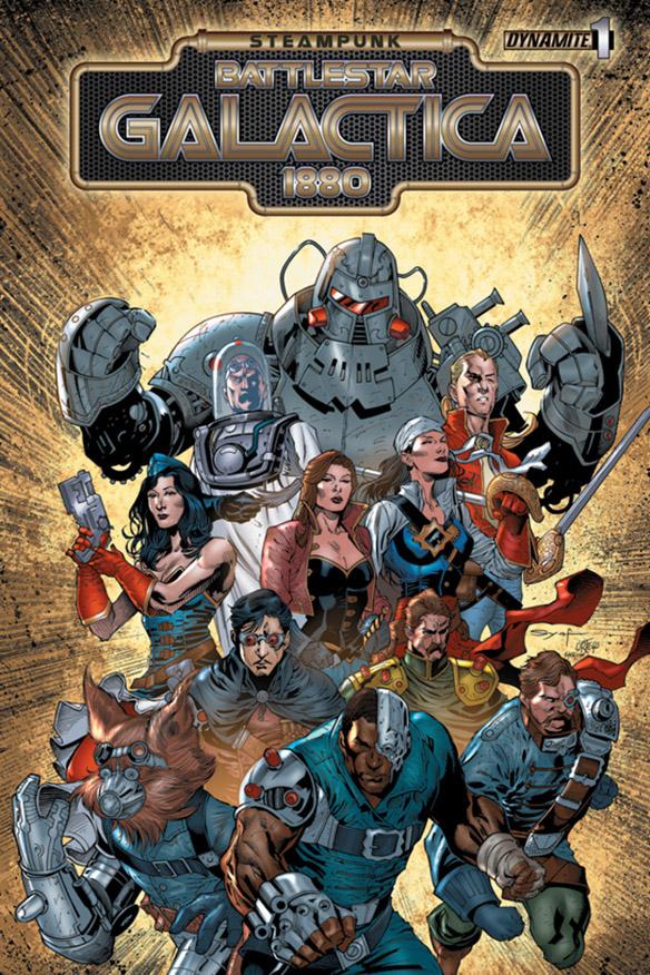 Steampunk Battlestar Galactica 1880 #1