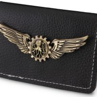 Steampunk Bi-Fold Wallet