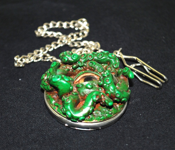 Steampunk Cthulhu Pocket Watch
