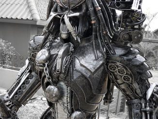 Steampunk Custom Made Predator