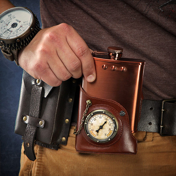 Steampunk Flask
