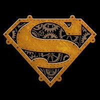 Steampunk Superman T-Shirt