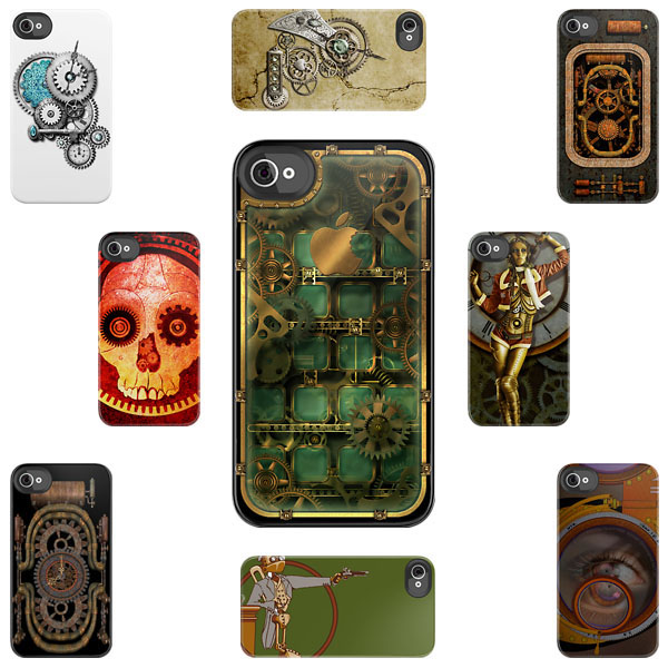 Steampunk iPhone Cases