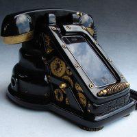 Steampunk iRetrofone