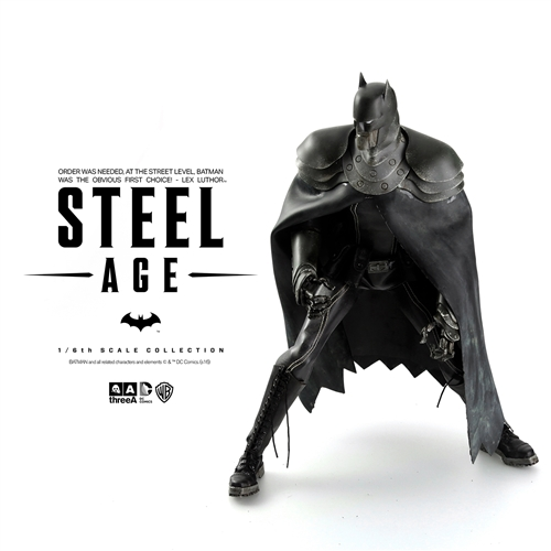 Steel Age Batman Sixth-Scale Figure 1
