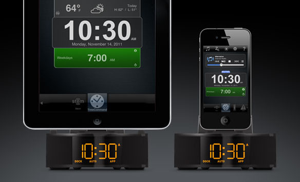 Stem Innovation Time Command Mini Alarm Clock