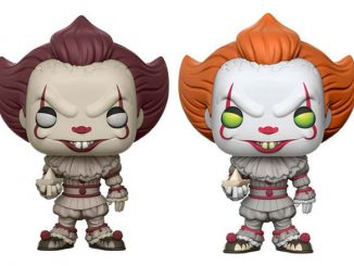 Stephen Kings It Pennywise Clown Pop Vinyl Figures