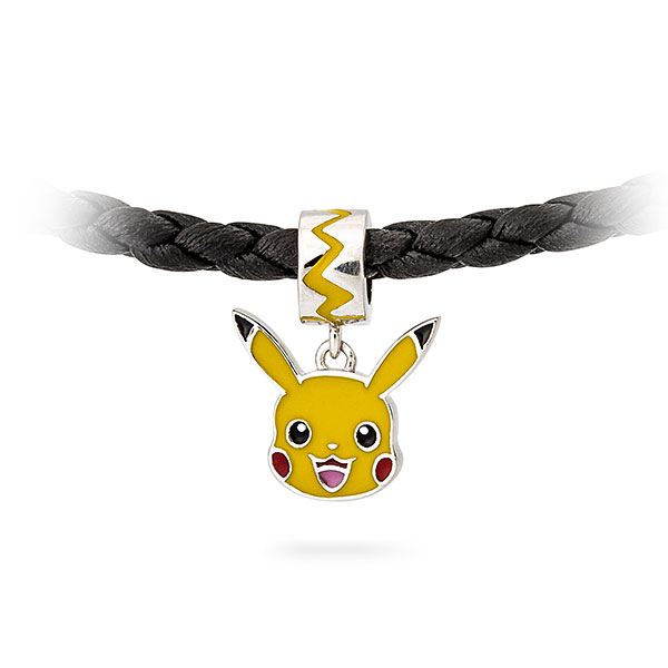Sterling Pokémon Pikachu Dangle Charm Bead