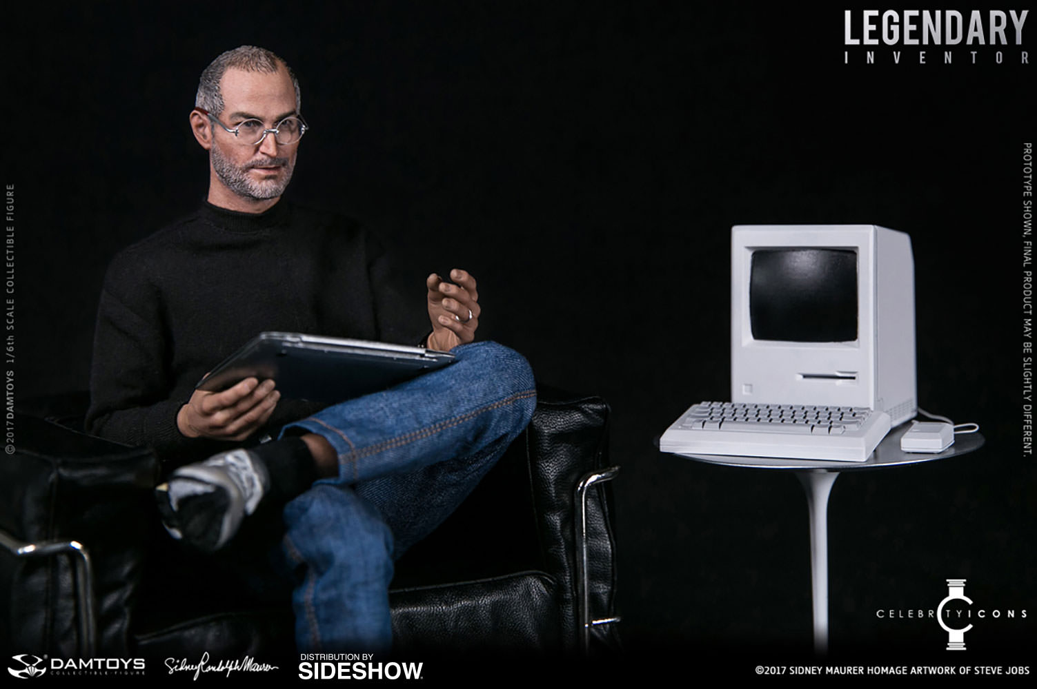 Steve Jobs Legendary Inventor Sixth Scale Figure