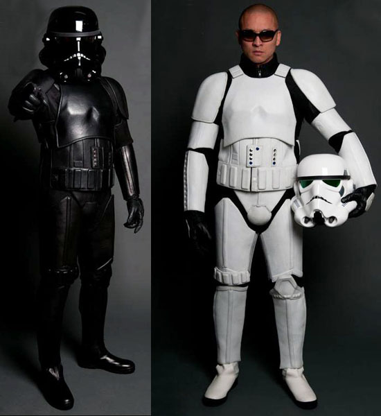 Stormtrooper Leather Suit