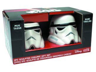 Stormtrooper Molded Bank and Mug 2-Pack Set