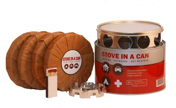 Stove in a Can