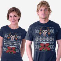 stranger-christmas-t-shirt