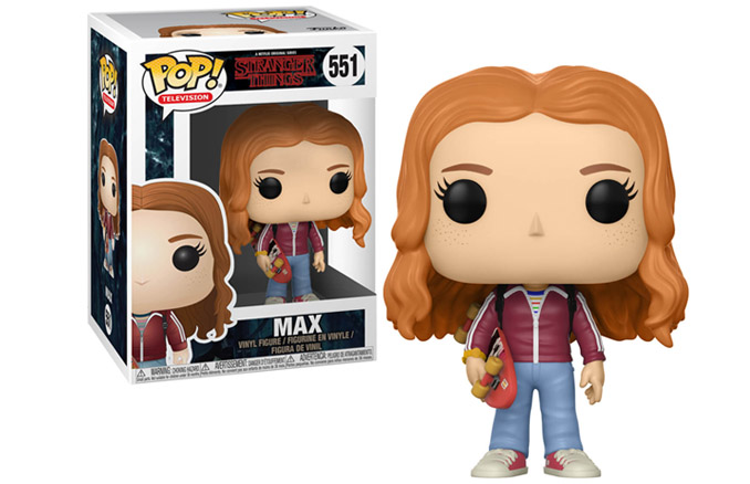 9d14893861452a Stranger Things Max with Skateboard Pop! Vinyl Figure