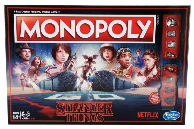 Stranger Things Monopoly Board Game