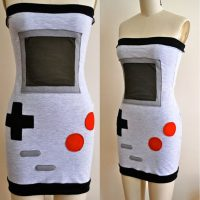 Strapless Nintendo Dress