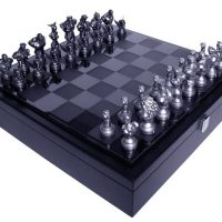 Street Fighter 25th Anniversary Chess Set