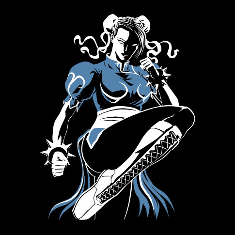Street Fighter Lightning Kick Shirt