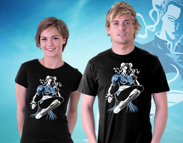 Street Fighter Lightning Kick T-Shirt
