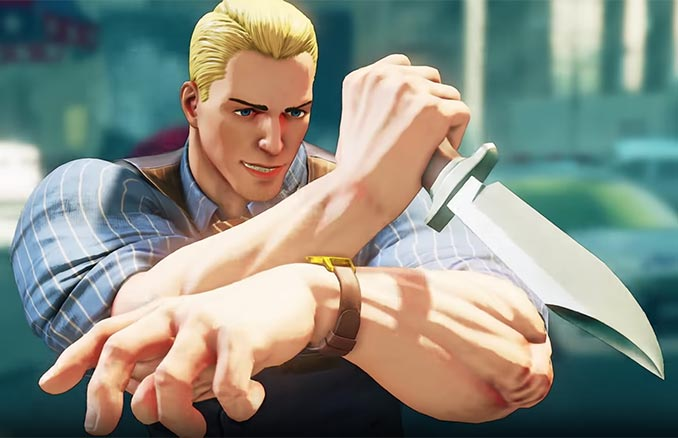 Street Fighter V Arcade Edition Cody