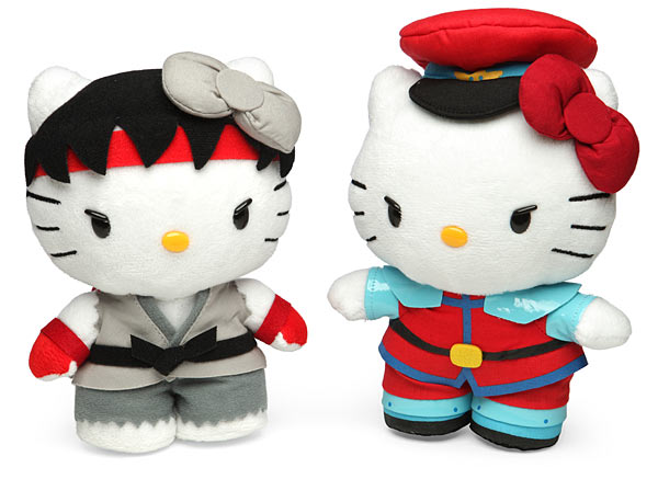 Street Fighter X Sanrio Plush