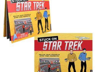 Stuck on Star Trek Hardcover Sticker Book