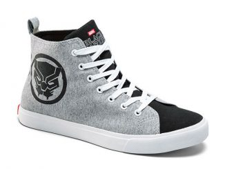 Stylish Marvel Black Panther High Top Sneaker