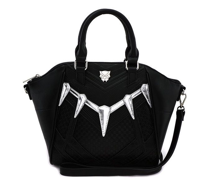 Stylish Marvel Comics Black Panther Handbag