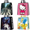 Pop Culture Themed Shopping Bags