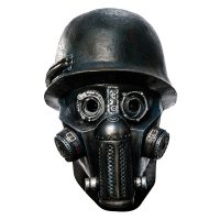 Sucker Punch Deluxe Adult Zombie Gas Mask Mask