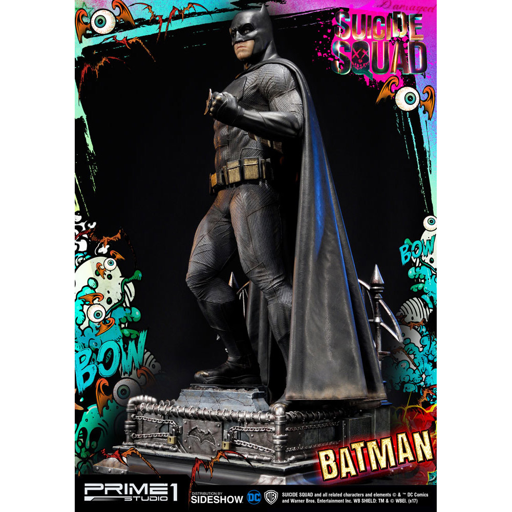 suicide squad batman statue. Black Bedroom Furniture Sets. Home Design Ideas