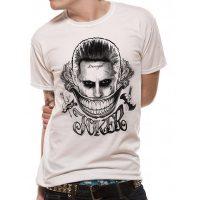 Suicide Squad Damaged Joker T-Shirt
