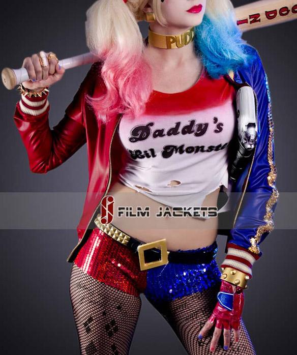Suicide Squad Harley Quinn Jacket front
