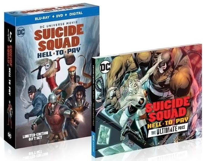 Suicide Squad: Hell To Pay Limited Edition Blu-ray