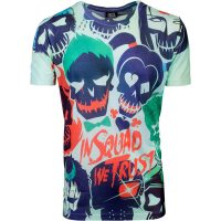 Suicide Squad In Squad We Trust Sublimation T-Shirt