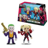Suicide Squad Joker and Harley Quinn 4-Inch Metals Die-Cast Figure 2-Pack