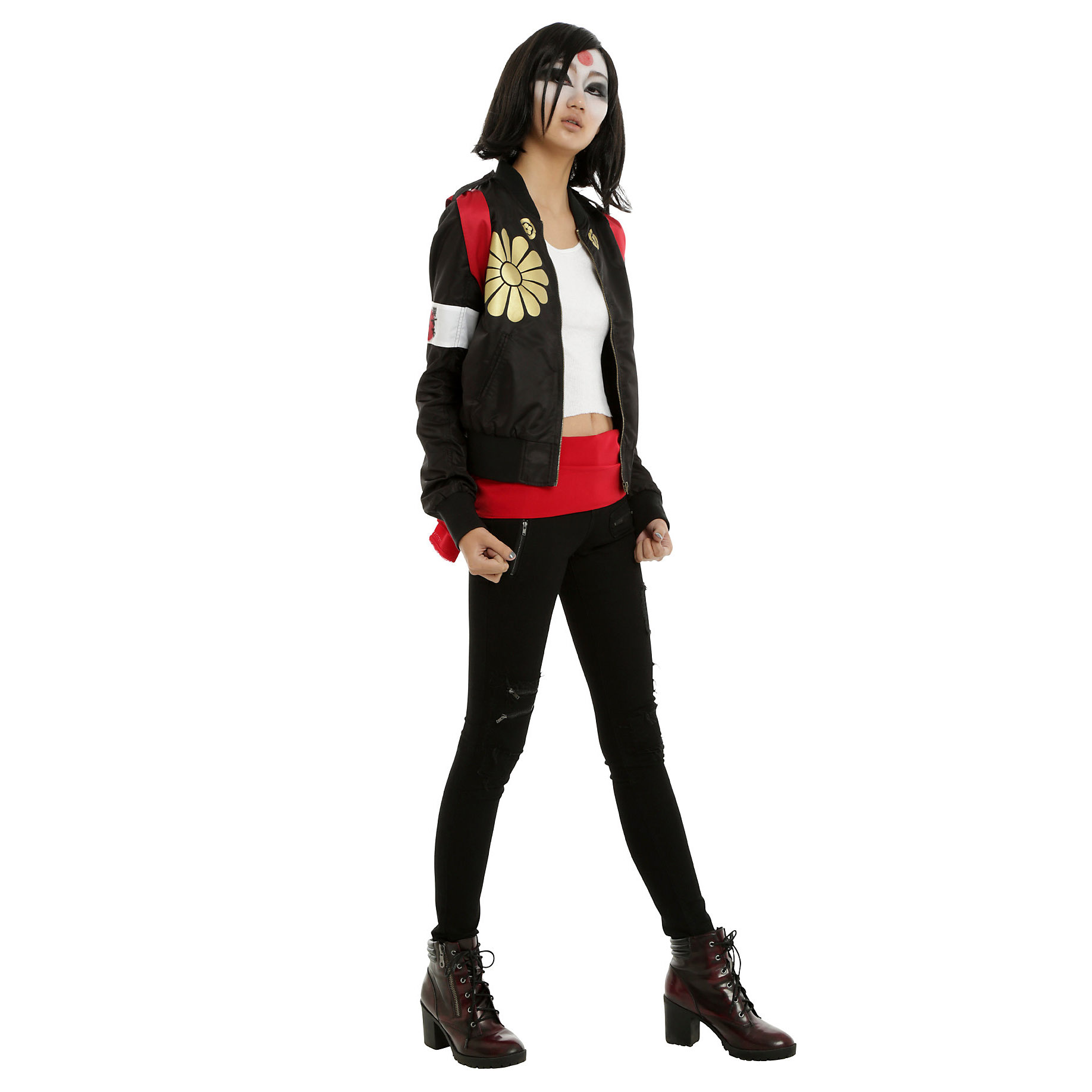 The Suicide Squad Katana Girls Jacket will be available July 22, 2016 ...