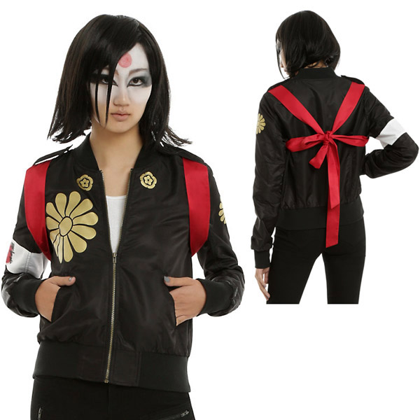 Suicide Squad Katana Girls Jacket